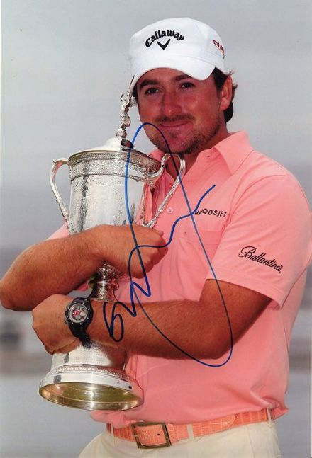 Graeme McDowell, US Open Championship 2010, signed 12x8 inch photo.